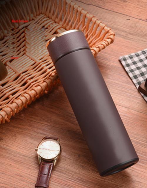 Business mug touch temperature measurement