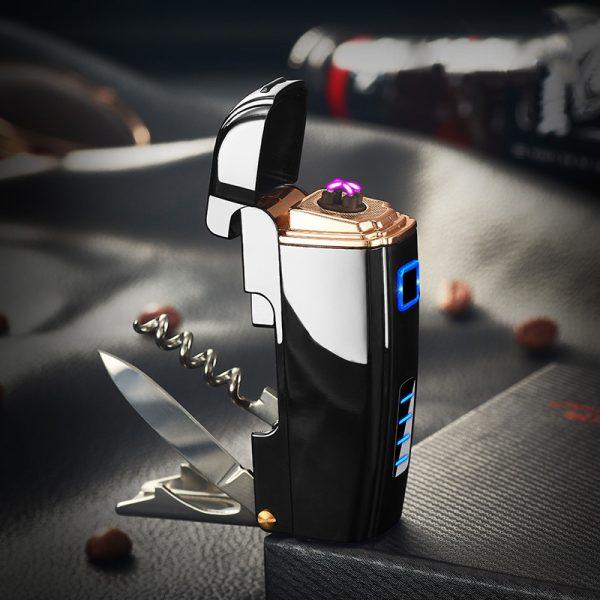 Multifunctional alcohol charging cigarette lighter