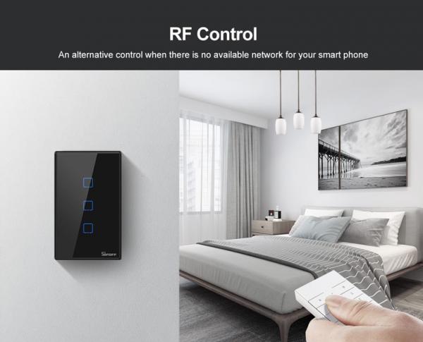 Smart wall switch