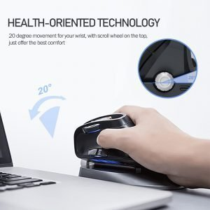 Wireless light electric vertical mouse